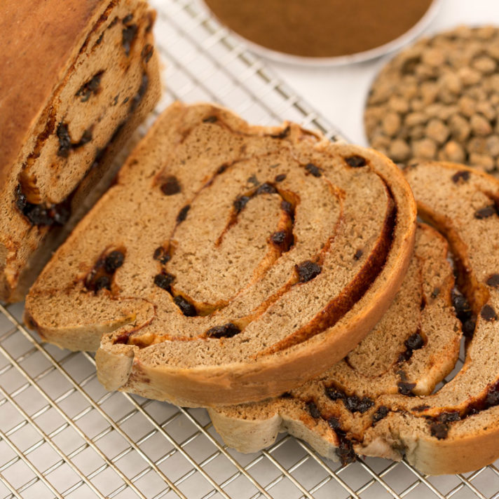 California Fig and Cinnamon Swirl Bread