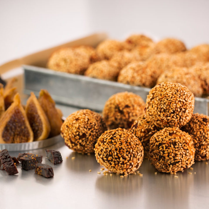 California Fig Sesame Balls