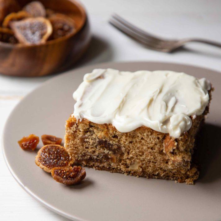 California Fig Ginger Cake