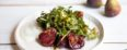 Grilled California Fresh Figs and Beet Salad