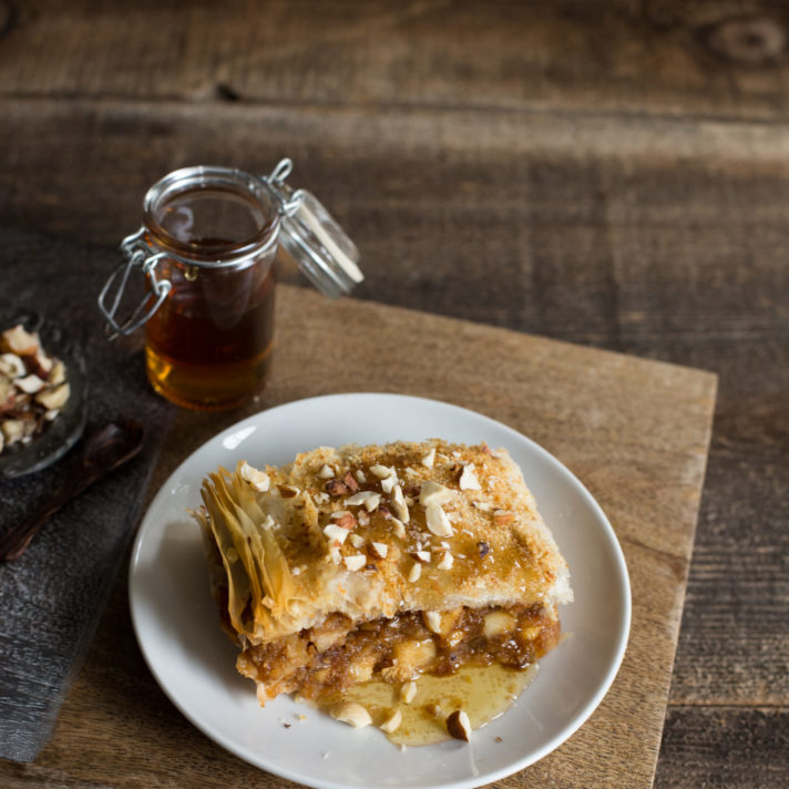 California Fig and Pear Strudel