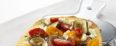Tomato, California Fig and Feta Cheese Pizza