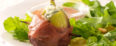Prosciutto Wrapped Figs and Arugula Salad Feature