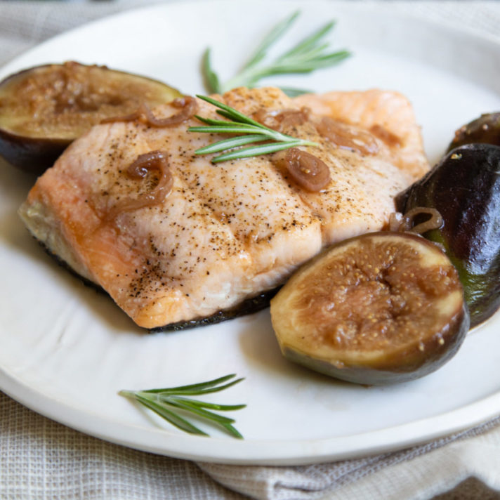 Pan Roasted Salmon with California Fresh Figs