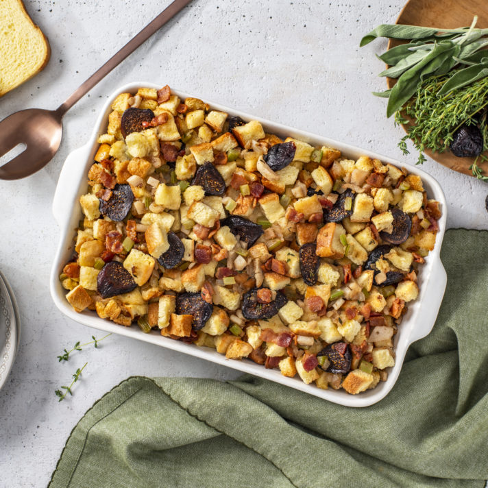 California Fig and Chestnut Stuffing